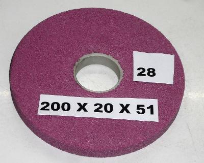 Brusný kotouč 200x20x51 (28)