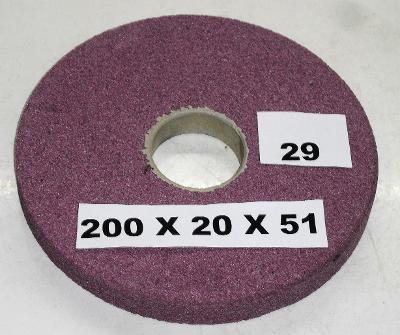 Brusný kotouč 200x20x51 (29)