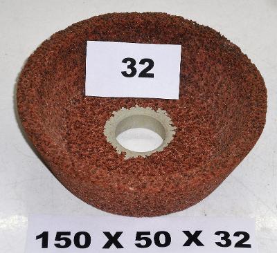 Brusný kotouč miskovitý 150x50x32 (32)