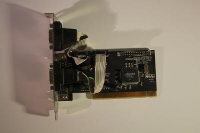 Dvouportová COM karta do PCI