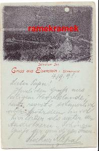 Železná Ruda DA 1898 Černé jezero Šumava (Klatovy)
