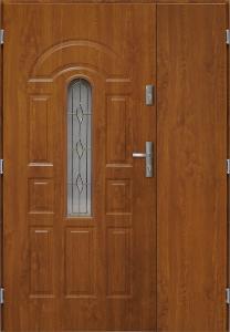 Venkovní dvoukřídlé vchod dveře BRISTOL UNO