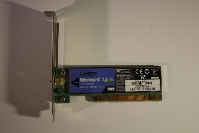 Síťová karta Linksys WMP54G Wireless G 2.4GHz PCI