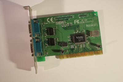 PCI karta NETMOS 2x COM port do PCI