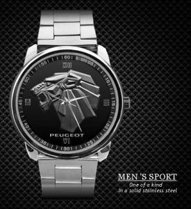 Peugeot Watch 206 306 406 - hodinky nerezová oce