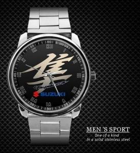 Suzuki Hayabusa Turbo Sport- hodinky nerezová oc