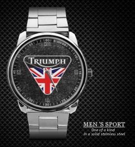 Triumph Motorcycle Spitfire- hodinky nerezová oc