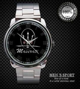 Maserati Logo Sport  - hodinky nerezová ocel