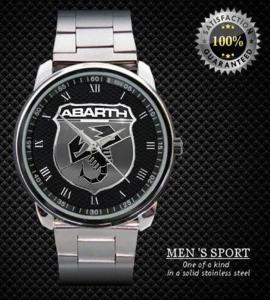 Abarth Logo Sport  - hodinky nerezová ocel
