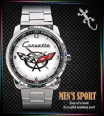 Corvette - hodinky nerezová ocel