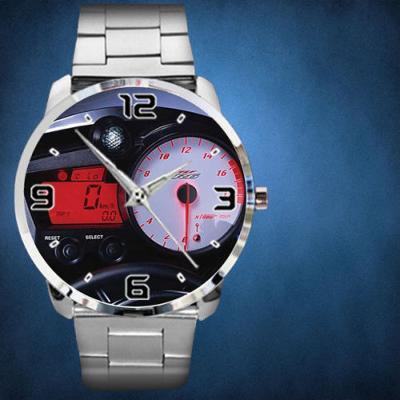 Yamaha R6 Speedometer - hodinky nerezová ocel