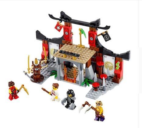 skládačka, stavebnice ninja - Hračky