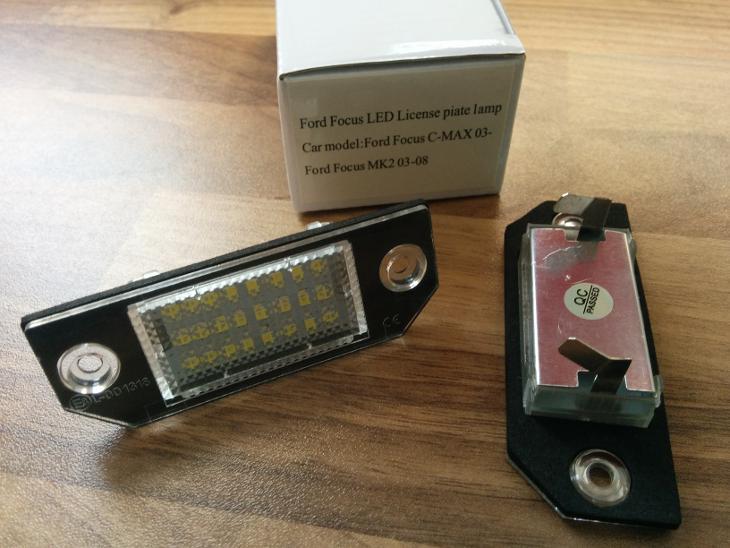 Ford LED osvětlené SPZ, RZ. Focus C-Max - Náhradní díly a příslušenství pro nákladní vozidla