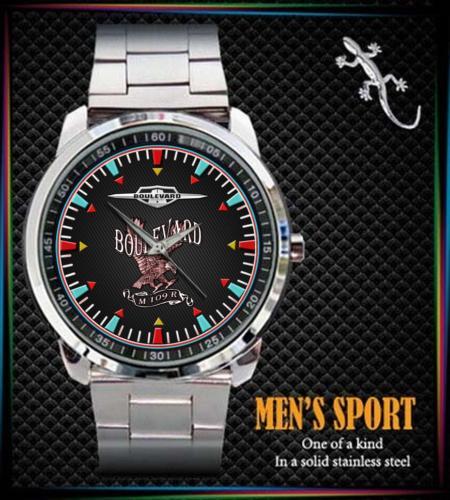 SUZUKI BOULEVARD M109R - hodinky nerezová ocel - Módní doplňky