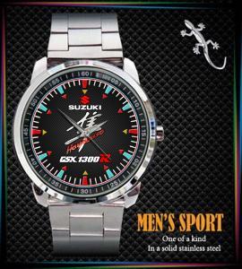 SUZUKI HAYABUSA GSX1300R - hodinky nerezová ocel