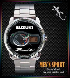 Suzuki Bandit GSF 400 600 - hodinky nerezová ocel