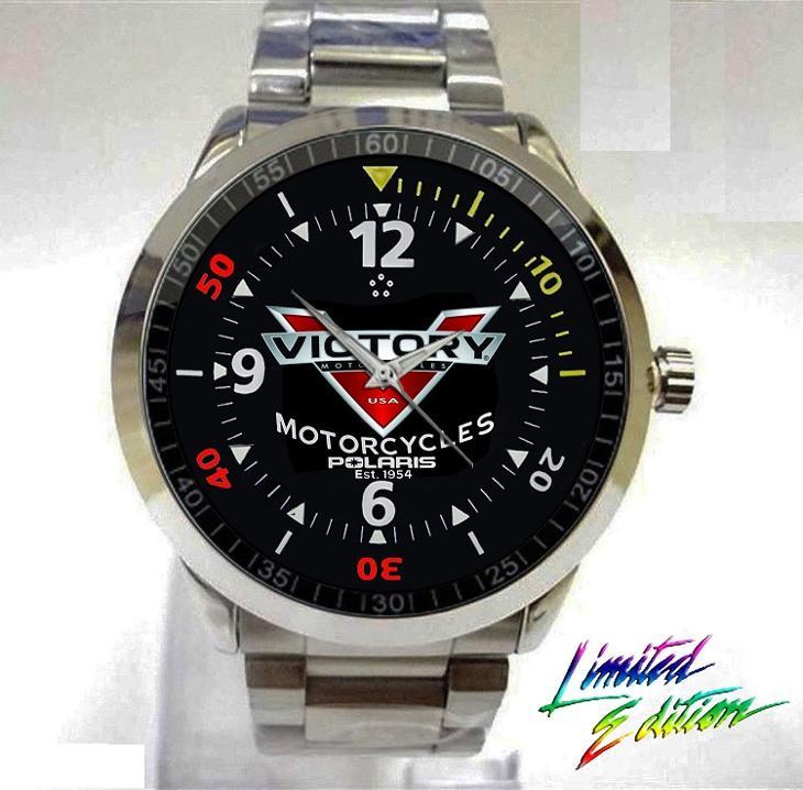 Victory Motorcycles Polari - hodinky nerezová oc - Módní doplňky