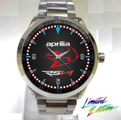 Aprilia RSV4 Racing Sport - hodinky nerezová oce