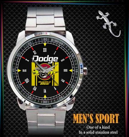 Dodge Rumble Bee - hodinky nerezová ocel - Módní doplňky