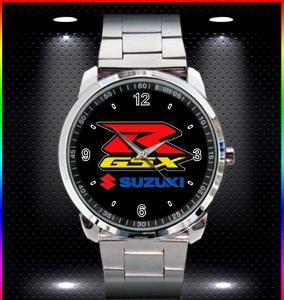 SUZUKI GSXR SPORT MOTO - hodinky nerezová ocel