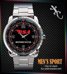 BSA Motorcycles Logo Sport - hodinky nerezová ocel