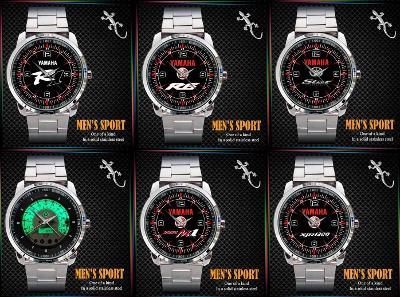Yamaha R1 / R6 / Star / Vmax /YZR-M1 / XJR1300 / hodinky nerezová ocel
