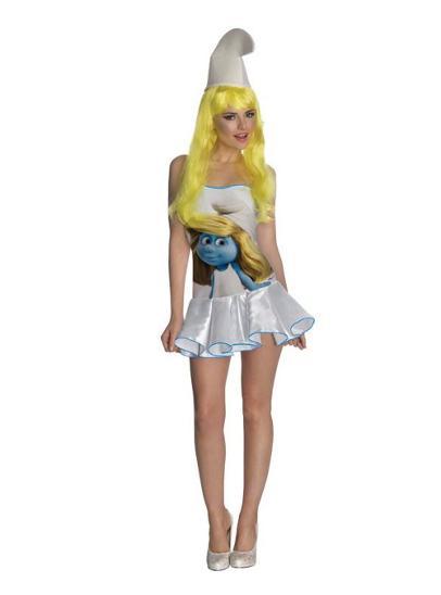 kostým Šmoulinka - velikost XS - SUPER CENA - Erotické prádlo, obuv