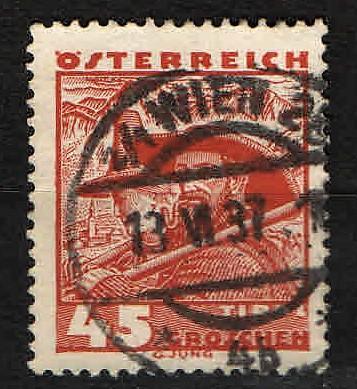 Rakousko - Mi.567 - Místní motivy - razítko Vídeň
