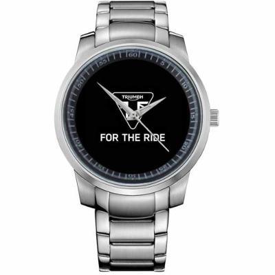 TRIUMPH FOR THE RIDE LOGO - hodinky nerezová oce