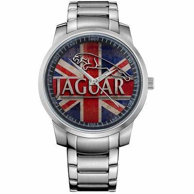 JAGUAR LOGO GREAT BRITAIN - hodinky nerezová oce