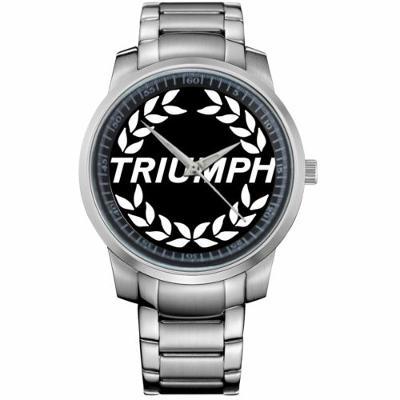 TRIUMPH MOTOR COMPANY LOGO - hodinky nerezová oc