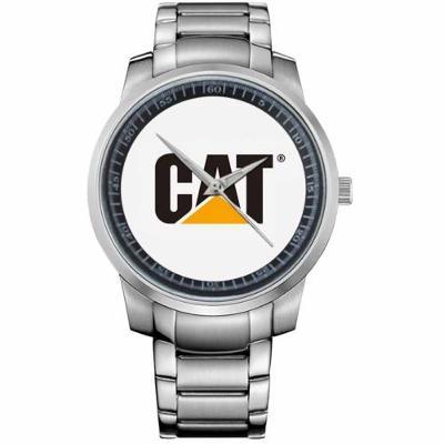 43b1bc208 CAT CATERPILLAR LOGO - hodinky nerezová ocel | Aukro