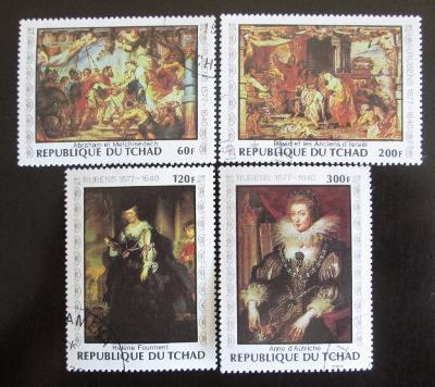 Čad 1978 Umění, Rubens Mi# 835-38 0125