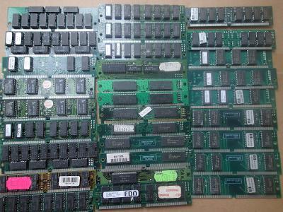 Sběratelské SIMM 72PIN 32bit 8MB pro náročné sběratele netestované