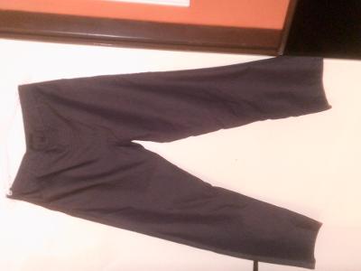 pěkné zajímavé džíny LOOK vel.L,pas 86 cm