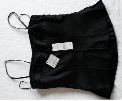 Korzet černý - vel. 38 - butik EL - nový 14644b161f