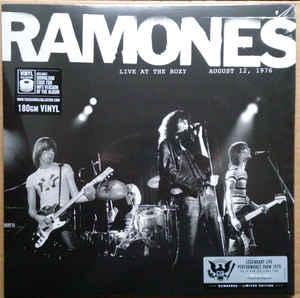 RAMONES-Live at the roxy august 12,1976,180 gram
