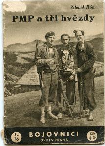 Partyzáni - PMP a tři hvězdy, 1946,edice Bojovníci