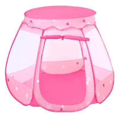 Stan pro děti s barvenymi puntíky růžový NOVÉ