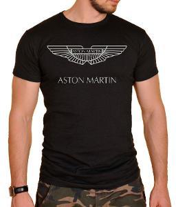 Aston Martin Logo - pánské tričko S-XXL