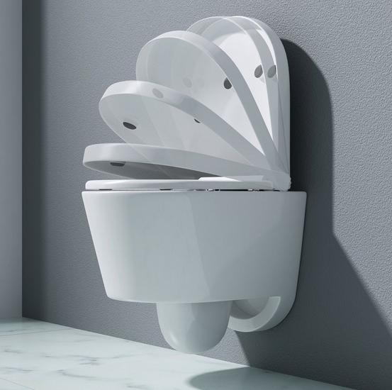 DESIGN Závěsný klozet - WC+DÁREK-dovoz SRN - AKCE - Nábytek