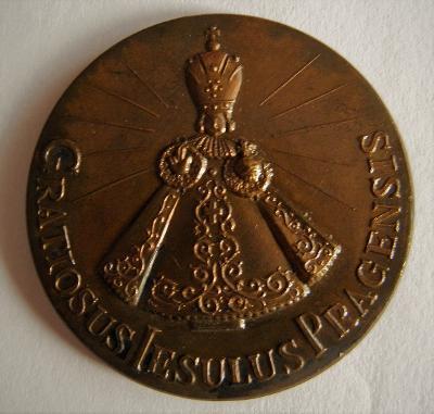 Medaile Pražského dítěte Ježíše, Kostel Panny Mari