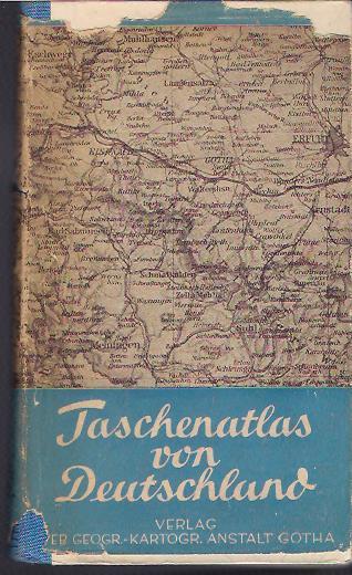 Taschenatlas von Deutschland