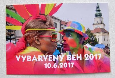 KARTIČKOVÝ KALENDÁŘ 2017 - KROMĚŘÍŽ -VYBARVENÝ BĚH