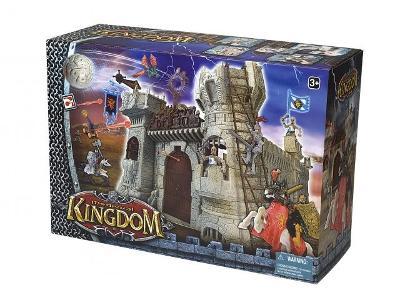 Hrad s rytíři Kingdom, sada, s drakem, 44 cm X 35