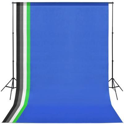 Profesionální foto set, 5x foto pozadí, konstrukce