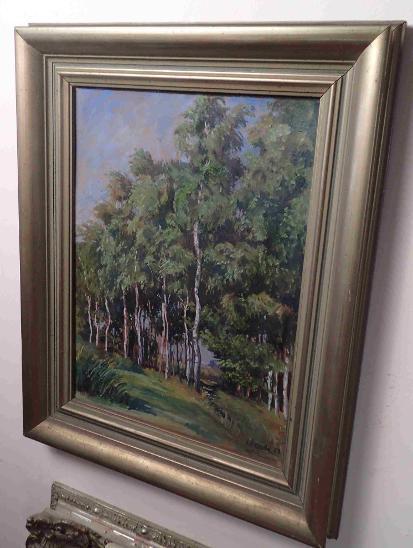 BŘEZOVÝ HÁJEK - OLDŘICH FIEDLER 1958 - Umění
