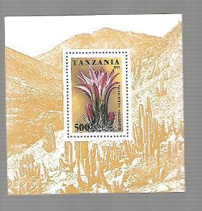 TANZÁNIE 2167 (bl.297) Kaktusy  **