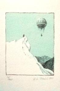 Petr Ptáček - Litografie