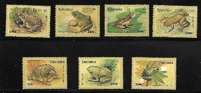 TANZÁNIE 2264-70  Žáby  kompletní série **